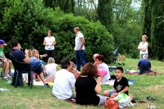 gente nel parco